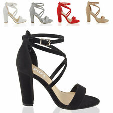 Essex Glam Block Heel Party Shoes for Women