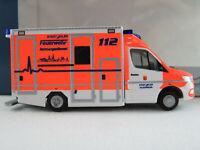 """Rietze 76222 GSF RTW MB Sprinter (2019) """"Feuerwehr Ahlen"""" 1:87/H0 NEU/OVP"""