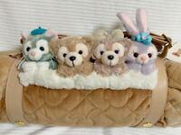 Duffy /& Friends Blanket /& backpack Tokyo Disney Sea LTD NEW Winter Holiday Goods