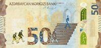 Azerbaijan 50 manats 2020 (2021) P-new UNC