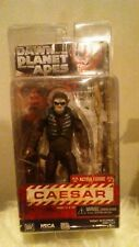 NECA DAWN OF THE PLANET OF THE APES CAESAR ACTION FIGURE (opened)