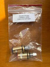 Chicago 1-099XKJKABNF & 1-100XKJKABNF Ceramic 1/4-Turn Cold & Hot Cartridge Kit