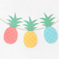 1Set Pineapple Banner For Bunting Garland Party Favors Home Decoration FE