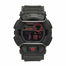 Casio G-Shock Men's Quartz World Time Red Accent Black Resin 50mm Watch GD400-1
