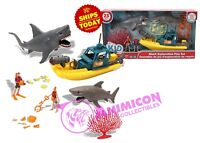 Kid Connection SHARK EXPLORATION PLAYSET Animal GREAT WHITE Planet Boat NEW 2018