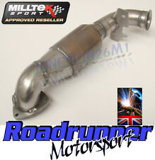 Milltek Mini Cooper S Downpipe & Hi Flow Sports Cat Exhaust R56 & R58 SSXM015