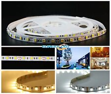 Striscia  LED 12V strip 5050 luce fredda 6000K 5 metri IP20 Alta Luminosità 1707