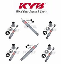 Front and Rear Shock Absorbers KYB Gas-A-Just Jaguar XJS 76-92 V12 5.3L