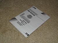Anleitung / Manual für JVC HM-HDS4 VHS- /HDD-Recorder, Deutsch
