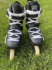 Seba Fr Skates size M7.5 W8 slalom free style inline rollerblades 80mm 85a abec3