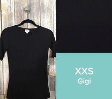 Lularoe Gigi XXS Noir Solid Black NWT! Brand New