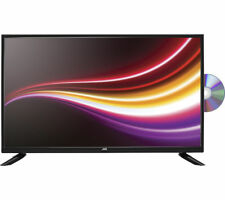 Black LED LCD TVs with Built-In DVD Players