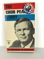 Vintage 1964 CHUB (Endicott) PEABODY Book SIGNED by Peabody & Political Pinback