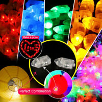 20/50/100pcs LED Balloon Lamp Paper Lantern For Home Wedding Party Decor Light