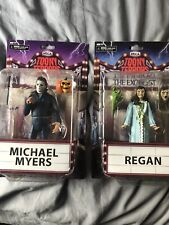 NECA Toony Terrors Michael Myers and Regan Figures