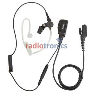Genuine Hytera PD705, PD785, PD985 Covert Security Acoustic Tube Earpiece EAN23