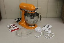 KitchenAid Artisan KSM150PS 5‑Quart Mixer - Tangerina