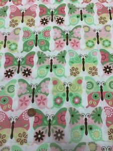 Springs Creative - Patchwork / Quilting Fabric - Fantasy Butterflies 100% Cotton