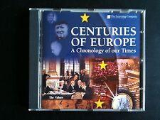 CENTURIES OF EUROPE PC CD -  Jewel Case - New and Unused - Windows 95