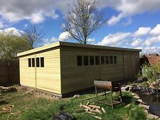 30x16 19mm ultimate pent shed / Garage