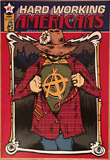 Hard Working Americans #1 HWA Comic Book Todd Snyder Dave Schools Rare
