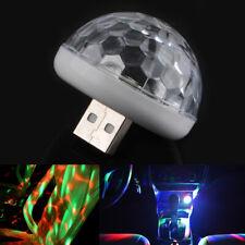 Led USB Car Atmosphere Light RGB Mini Romantic Lights DJ Music Sound Lamp