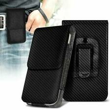 Belt Clip Pouch Holster Vertical Magnetic Phone Case Cover Holder For Samsung