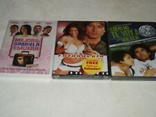 Lot Set Of 3 DVD Movies No Se Muera Fotonovela Como Te Voy A Querer Sealed New