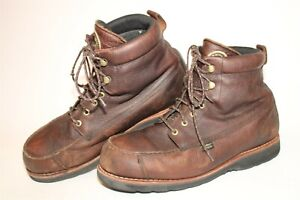 Red Wing Shoes Mens 13 EE Wide Irish Setter Hunt Brown Leather Ankle Boots 807