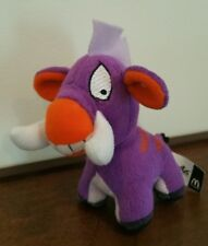 Neopets Plush PURPLE MOEHOG 2004 McDonald's