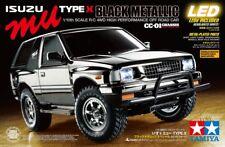 Tamiya 47383 1/10 RC CC-01 Truck Isuzu Mu Metallic Black Edition Kit w/LED+ESC