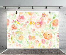 Oil Painting Flowers Vinyl Backdrop Props Background Studio 7x5ft Photography