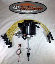 Jeep AMC GM STYLE HEI Distributor & Plug wires CJ5 CJ7 YJ 258 - DROP IN READY