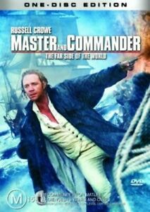 MASTER AND COMMANDER DVD - The Far Side Of The World - Russell Crowe