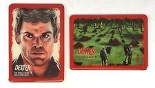 DEXTER SEASON 3 METALLOGLOSS METAL CASE CARD SET of 2: BELLINGER & TREV MURPHY