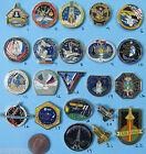 NASA enamel PIN lot of 22 - vtg Space Shuttle ENDEAVOR ISS Space Station -Set B