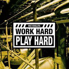 Wiz Khalifa - Work Hard, Play/ It's  Hard feat.2Chainz CD-Single Explicit Lyrics