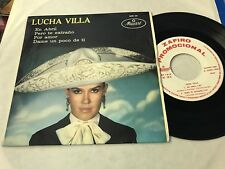 "LUCHA VILLA SPANISH 7"" SINGLE SPAIN WHITE LABEL ZAFIRO 69 EN ABRIL RANCHERA"