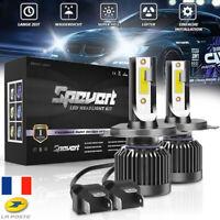 Mini ampoule de phare de voiture LED H4 55W lampe  faisceau Hi/Lo 13000LM 6000K