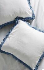 New Anthropologie Layered Fringe Euro Pillow Sham $68