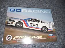 2008 FORD RACING FR5005 RACING CAR SPEC SHEET BROCHURE