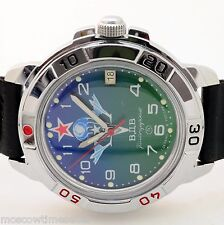 RUSSIAN VOSTOK (# 431818 PARATROOPER) MILITARY WRIST WATCH KOMANDIRSKI BRAND NEW