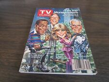 VINTAGE - TV GUIDE - JULY 26TH 1986 - TV'S TOP MONEYMAKERS  -EXC