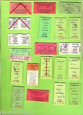 #D80. TWENTY USED NSW RAILWAY TICKETS, 1990s