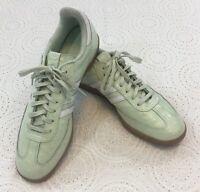 ADIDAS Samba Mint Green Textured Athletic Shoes Size 12 #115641388 NICE!