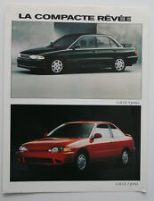 DODGE COLT 1993 dealer brochure - French - Canada - ST501000218
