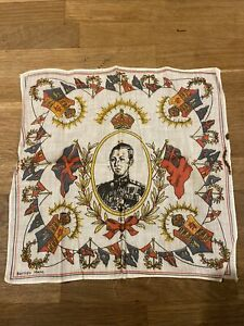 Edward VIII 1937 Coronation Handkerchief