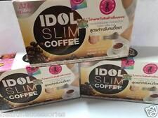 3 boxs IDOL Slim Coffee Burn Low Fat 100% Resistant Formula No Sugar Health Skin