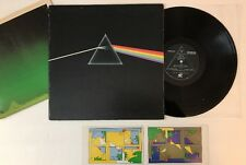 Pink Floyd The Dark Side Of The Moon - 1973 US 1st Press w/ Poster & Stickers