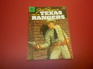 JACE PEARSON'S TALES OF THE TEXAS RANGERS #12 Dell Comics 1956 tv WESTERN